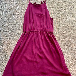 Lush Fit & Flare Pinkish/Red Dress XL